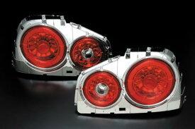 ニッサン スカイライン 2Dr用 R34 1998/05〜2001/06 GT-R 1999/01〜2002/08CLEAR WORLD(クリアワールド) LEDテールランプ  ETN-08テールランプ テールレンズ