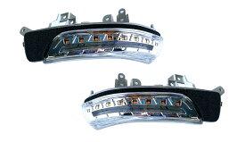 トヨタ用 LEDドアミラーウインカー クリアワールド シーケンシャル(流れるウインカー) ウェルカムランプ機能を搭載 DWT-01