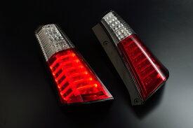 スズキ ワゴンR MH23S用 2008/09〜2012/09(H20/09〜H24/09)CLEAR WORLD(クリアワールド) チューブフルLEDテールランプ (レッド/クリアレンズ) RTS-25テールランプ テールレンズ