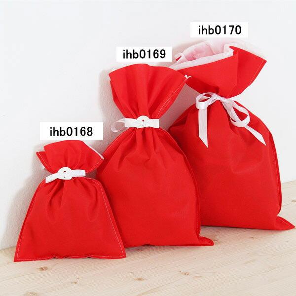 8色3サイズ!リボン不要の簡単ラッピング袋[ihb0168][ihb0169][ihb0170] ラッピング Xmas | ギフト プレゼント袋 | 包装 アパレル 小物 | 巾着 福袋 アクセ | kg-gift