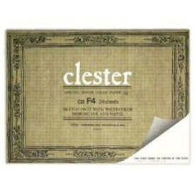 ホルベイン クレスター水彩紙 ブロック 中紙210g(並厚口) 中目 24枚とじ F4 (33.3×24.2)