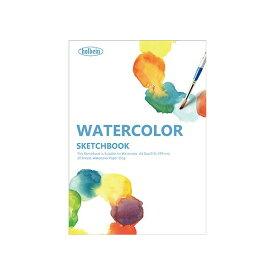ホルベイン 水彩画用スケッチブック YWC-A4 (20枚入 紙目=中目 サイズ=A4)