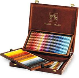 カランダッシュ水彩色鉛筆 スプラカラーソフト 120色 木箱セット