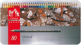 カランダッシュ パブロ 油性色鉛筆 80色セット