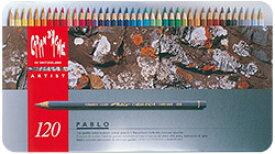 カランダッシュ パブロ 油性色鉛筆 120色セット