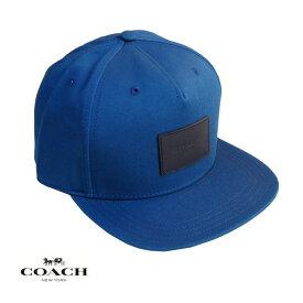 COACH コーチ メンズ レディース キャップ CAP アメリカ買付品 正規品 本物 ベースボールキャップ F33774 BLUE ブルー
