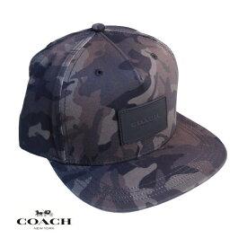 COACH コーチ メンズ レディース キャップ CAP アメリカ買付品 正規品 本物 ベースボールキャップ F75704 Green Multi Camo グリーンマルチカモ