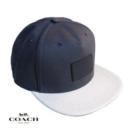 COACH コーチ メンズ レディース キャップ CAP アメリカ買付品 正規品 本物 ベースボールキャップ F34718 Charcoal Chalk チャコール チョーク