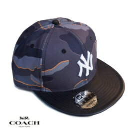 COACH コーチ メンズ レディース キャップ CAP アメリカ買付品 正規品 本物 ベースボールキャップ NEW ERA コラボ