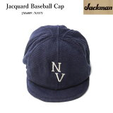 JackmanジャックマンJacquardBaseballCapJM6809DotsumeBaseballCap帽子コットン素材丸洗い可能♪