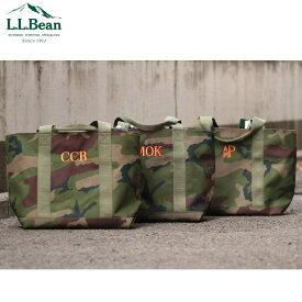 【LL BEAN】ポリエステル素材トートバッグ Hunter's Tote Bag, Zip-Top ハンターズ・トート・バッグ、ジップ・トップ