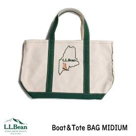 LL BEAN エルエルビーン トートバッグ Boat&Tote ボート&トート オリジナルステッチ入り 正規品 Midium ミディアム