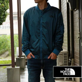 THE NORTH FACE ノースフェイス メンズ ナイロンジャケット MA-1 BLUE ブルー アメリカ買い付け品♪