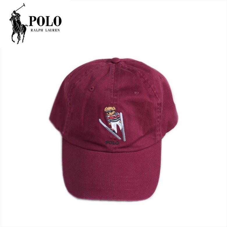 Polo Ralph Lauren Cap キャップ コットン コットンキャップ ポロラルフローレン メンズ・レディース POLO BEAR ポロベア BURGUNDY バーガンディ