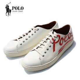 Polo Ralph Lauren ポロラルフローレン スニーカー レザースニーカー WHITE JERMAIN