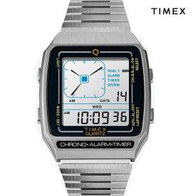 TIMEX タイメックス 復刻デジタルLCA TW2U72400 Q TIMEX Reissue Digital LCA シルバー 復刻デジタルLCA SILVER