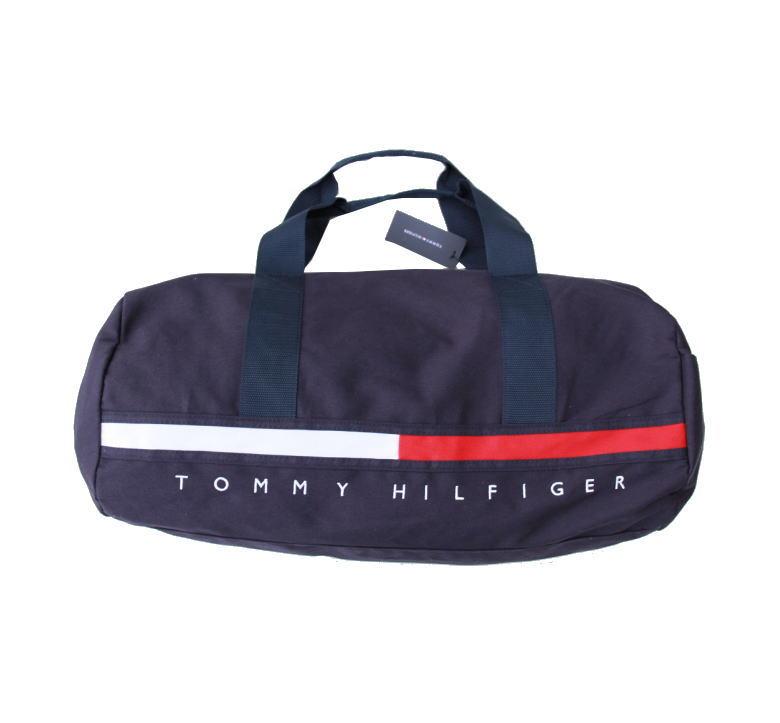 TOMMY HILFIGER トミーヒルフィガー ボストンバッグ BOSTON BAG NAVY 収納力抜群♪