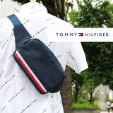 TOMMYHILFIGER(トミーヒルフィガー)NAVYアメリカ買い付け品ボディバッグウエストポーチコンパクトサイズ