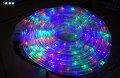 4色選べるイルミネーションLEDチューブライトロープライトクリスマス電飾長20m720灯3芯