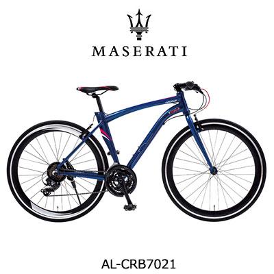 MASERATI(マセラティ) AL-CRB7021Tourney 700x25C クロスバイク 軽量エアロアルミフレーム 21段変速機搭載 重量13.3kg フレームサイズ480mm 50mmディープリム