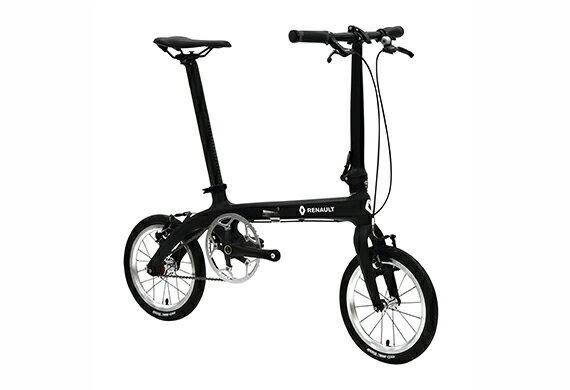 【2018モデル RENAULT ルノー Carbon6(カーボン6 C140)】 14インチ 折畳自転車 超軽量6.7kg!炭素繊維 TORAY T700カーボンフレーム・アルミ鍛造一体式ジョイントでスマートなフレーム・アルミ鍛造一体式ステム装備・ 4ベアリング採用で滑らかな回転を実現
