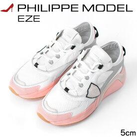 フィリップモデル PHILIPPE MODEL EZE エゼ レディース スニーカー 白 ホワイト おしゃれ イタリア製 軽量 厚底スニーカー