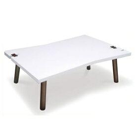 NUDE 四角 ホワイト天板のこたつテーブル モノトーン 個性あるフォルムのこたつ ローテーブル 丸い脚 国産テーブル 新生活 くさび 白いこたつ コタツ