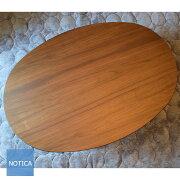 new!スタースポット国産天然木ウォールナット材こたつ150オーバルブラウンカラー楕円天板和洋のお部屋に似合うこたつテーブル継脚あり4〜5人向炬燵コタツリビングテーブルローテーブル2016モデル