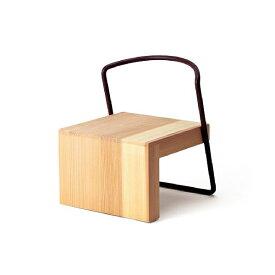 tetsubo シンプルキッズチェア ナチュラル うづくり加工 無垢材 天然木スギ材 可愛い 小泉誠 子供 椅子 チェア デザイン 高級 新生活