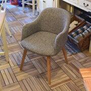 モダンスタイルダイニングチェア1Pチェアシンプルファブリックチェア天然木ブルー/ブラウン/グレー食卓用椅子イス1人用椅子1人掛けおしゃれなチェアファブリックチェア布張り