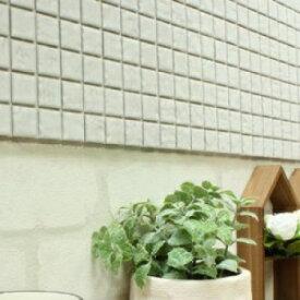【普通のシール】ビンテージ風 DIYタイル 15×15 モザイクタイル タイルシート 本物の焼き物タイル 簡単アレンジ DIY 貼るだけタイルシート インテリアやキッチン テレビボードなどの装飾にも ベーシックタイプ 本物タイルで高級感もあり 日本製のタイル