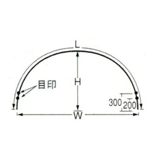 タキロン トンネル支柱 7S-7 口径11mm×高さ72cm×幅120cm×長さ210cm 50本セット