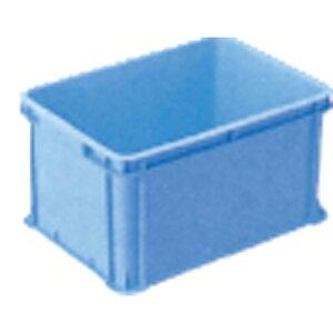 RBコンテナー 青 RB-54 長さ567mm×幅399mm×高さ306mm 容量51L ( 収穫 プラスチック コンテナ コンテナボックス コンテナー 野菜コンテナ 採集コンテナ パーツボックス 農業 カゴ 農業資材 ガーデン