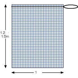 落ち葉ネット 100cm×150cm