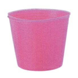 カラーポット 7.5cm ピンク 100枚入