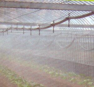 ミストエース20 ハウスクール02L 100m (潅水 農業資材 散水チューブ 灌水チューブ ビニールハウス 潅水チューブ 家庭菜園 園芸用品 農作業 便利 グッズ ハウス 灌水 散水 園芸資材 農業用資材