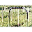 アーチパイプ 切り花ネット用 径20mm×幅66cmx高さ30cm ( 雨よけ 雨除け パイプ支柱 接続 部材 部品 ガーデニング 野…