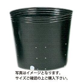 ポリポット黒丸 側面穴 口径24cm×高さ24cm×24穴 100枚