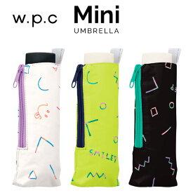 【Wpc】 折りたたみ傘 80sスマイリー mini w.p.c ワールドパーティー