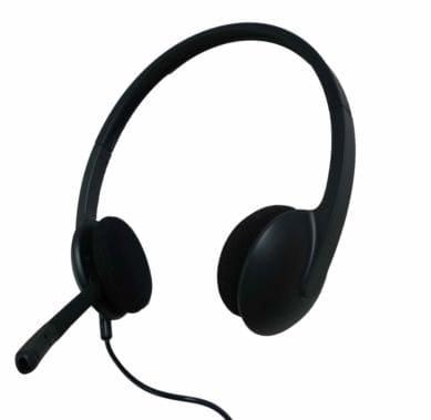 高性能機器 テレビレッスン対応[ロジクール]USBヘッドセット H340-R英語・英会話のレッスンで大活躍!これでどこでも教室に変わる!