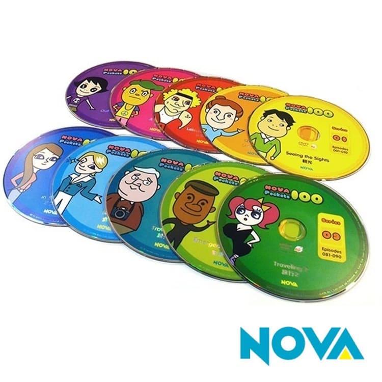英会話 英語教材 英語 英単語 フレーズ 教育 単語 単語 NOVA 英語力アップNOVA Pockets 100 (単品DVD)英会話の初心者から上級者まで、活きた英語をしっかりと学べる!