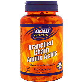 ★Now Foods公式ストア★ナウスポーツ 分岐鎖アミノ酸 120錠【NOW SPORTS】Branched Chain Amino Acids 120CAP