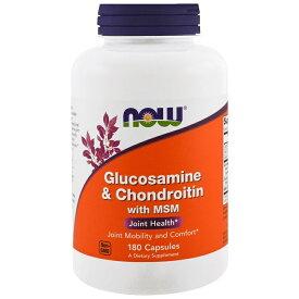 ★Now Foods公式ストア★ナウフーズ グルコサミン & コンドロイチン 180錠【NOW FOODS】Glucosamine & Chondroitin 180tab