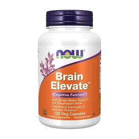 【NOW Foods公式ストア】 ナウフーズ ブレイン エレベイト 120粒 ベジカプセル【NOW Foods】Brain Elevate 120 Veg Capsules