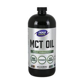 【Now Foods公式ストア】 ナウスポーツ ピュアMCTオイル、ココナッツ抽出 946ml 【NOW FOODS】 MCT Oil, Pure 32 fl oz
