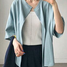 ANAIS(アナイス)ボレロカーディガン【6/17up_ys】【送料無料】韓国 韓国ファッション ボレロ カーディガン おしゃれ 夏 デイリー フェミニン カジュアルレディース ファッション【あす楽】