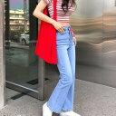 CHUU(チュー)-5kg ROSE edition jeans vol.4【4/15up_mo】【送料無料】韓国 韓国ファッション マイナス5キロジーンズ…