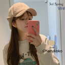 CHERRYKOKO(チェリーココ)コーデュロイフライトキャップ【12/20up_mo】韓国 韓国ファッション パイロットキャップ …