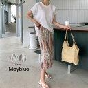 MAYBLUE(メイブルー)エスニックセットアップ【7/7up_go】韓国 韓国ファッション セットアップ エスニック柄 バック…