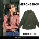 MERONGSHOP(メロンショップ)完璧なベーシックシャツ【9/13up_wo】韓国 韓国ファッション トップス シャツ ブラウス …